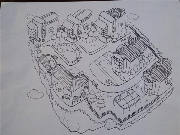 铅笔手绘 线条 元素
